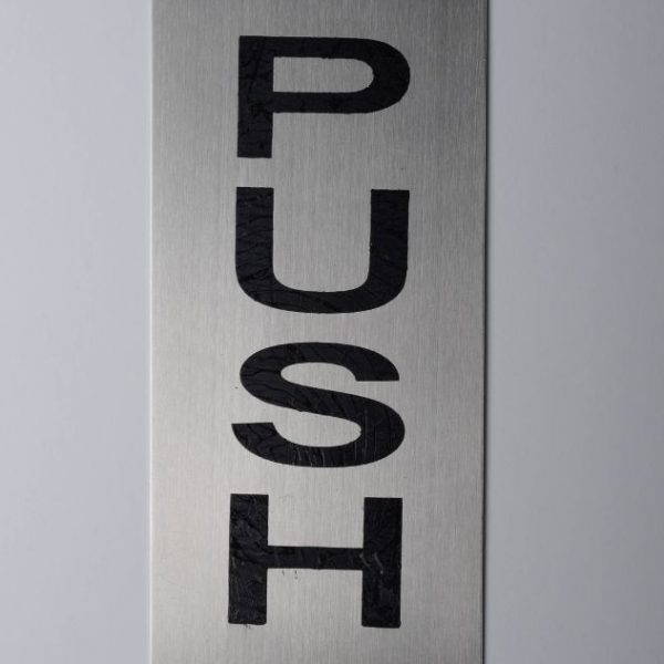 push-plate
